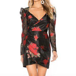 Lovers + Friends Brant Mini Dress Black